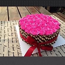 玫瑰花束蛋糕