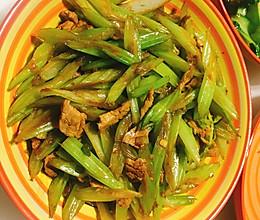 炒芹菜的做法