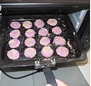 紫薯芝麻饼的做法图解5