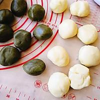 抹茶豆沙酥的做法图解3