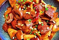 春笋红烧肉的做法
