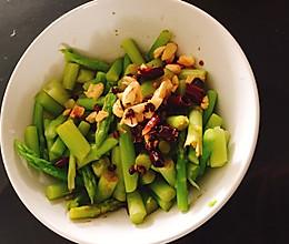 椒麻芦笋的做法