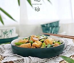 家常菜油豆腐 #快手又营养,我家的冬日必备菜品#的做法
