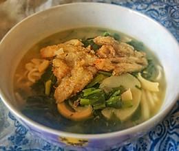 #换着花样吃早餐#上海黄鱼面的做法