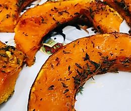 #精品菜谱挑战赛#百里香烤南瓜的做法