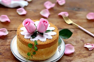 花开富贵酸奶鲜花裸蛋糕