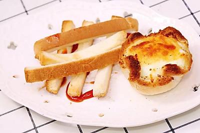 简单方便的早餐小美食,你猜猜是什么?