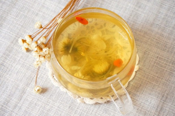 金银花凉茶的做法