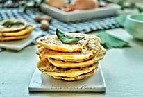 麦香海米小蛋饼的做法