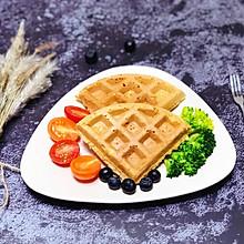 #10分钟早餐大挑战#全麦华夫饼