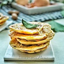 麦香海米小蛋饼