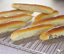 看上去就很好吃!可爱的小奶棍面包的做法