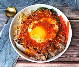 一粒米都不剩的韩式拌饭的做法