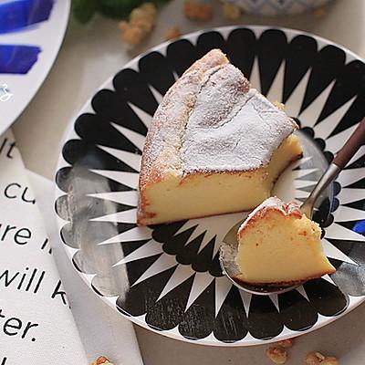 【白巧轻乳酪蛋糕】——网络神传的三材料蛋糕