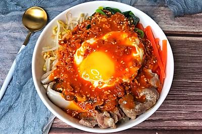 一粒米都不剩的韩式拌饭