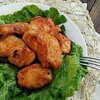 煎鸡胸肉~~不用烤箱的美味的做法图解6