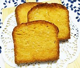 蜂蜜黄油厚片吐司的做法
