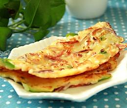 米饭杂蔬饼的做法