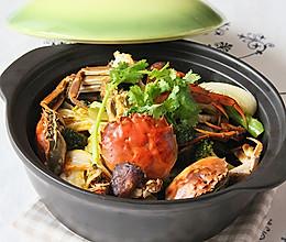 干锅香辣蟹的做法