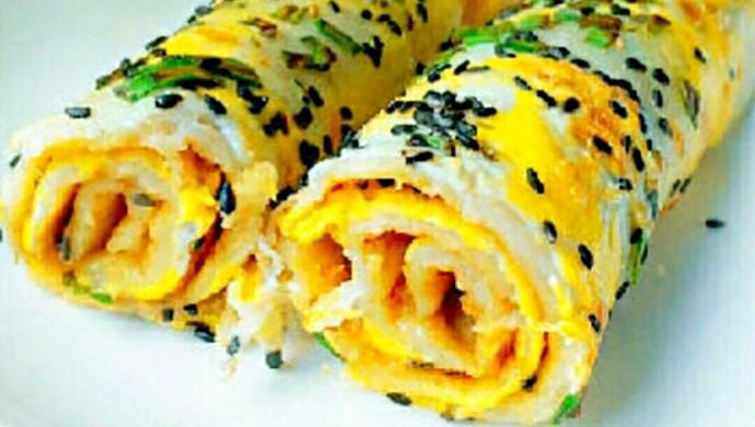 快手早餐—黄金煎饼果子