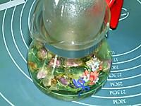#硬核菜谱制作人##炎夏消暑就吃「它」#玫瑰花茶的做法图解5