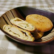 #全电厨王料理挑战赛热力开战!#发面葱油饼