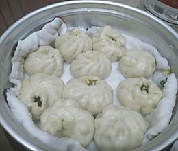 青菜香菇包的做法