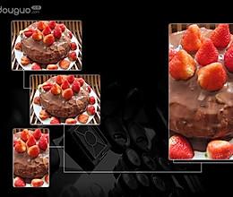 奶油巧克力可可蛋糕的做法