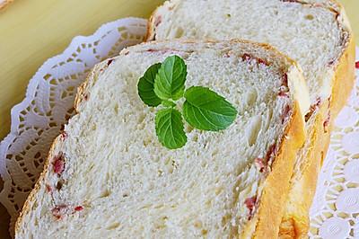 葱花培根面包