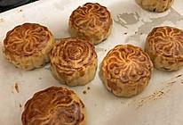 云腿蛋黄,肉松蛋黄,伍仁月饼的做法