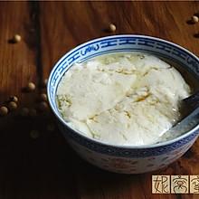 自制豆腐花(甜)
