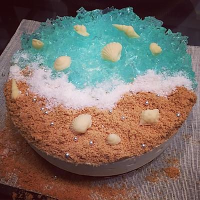 海洋之恋酸奶慕斯蛋糕(8寸)