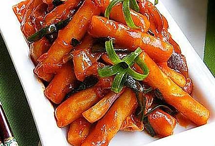 韩国の辣炒年糕的做法