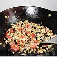 茄子打卤面的做法图解5