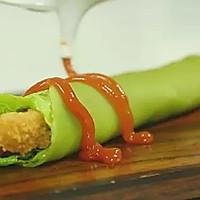 【微体】爱这一抹绿 芹菜鸡肉卷的做法图解17