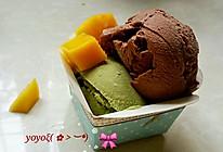 抹茶and可可冰淇淋的做法
