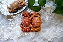 #肉食者联盟#快手盐焗大闸蟹的做法