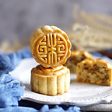 新派五仁月饼-豪华坚果自制馅料版