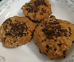 红糖燕麦饼的做法