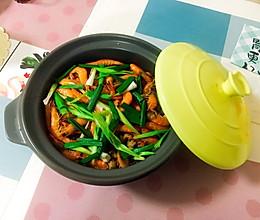 快手聚餐主菜|什锦海鲜鸡煲的做法