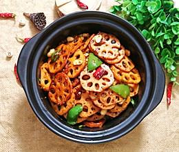 干锅藕片的做法