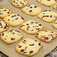 【曼步厨房】蔓越莓曲奇饼干的做法图解10