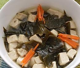 豆腐海带汤的做法