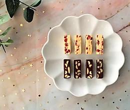 蔓越莓花生牛轧糖与浓情可可牛轧糖的做法