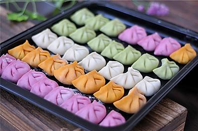 菜汁蔬菜水饺