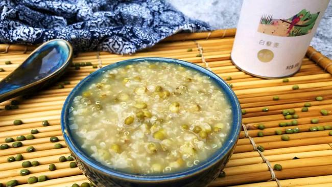 #硬核菜谱制作人#藜麦绿豆粥的做法