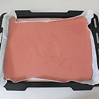 香润丝滑红丝绒波点蛋糕卷#长帝烘焙节#的做法图解13