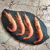 椒盐阿根廷红虾的做法图解1