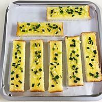 #花10分钟,做一道菜!#蒜蓉吐司条的做法图解6