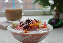 汤圆酸奶水果捞的做法